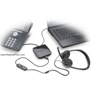 how to set up plantronics headset to phone