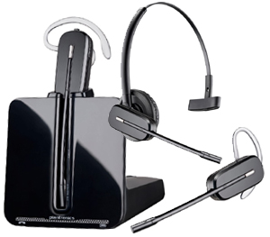 Plantronics CS540 Wireless Headset Troubleshooting and Setup