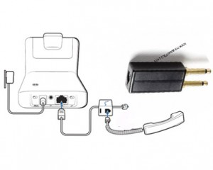 Wireless headset set up