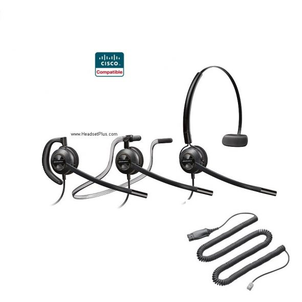 Cisco Compatible Headsets Archives - HeadsetPlus com