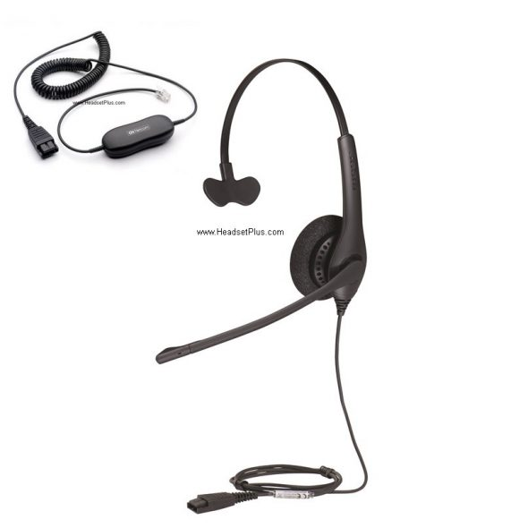 03d97371cbd The 1500 mono by Jabra is a single-eared corded headset that is equal parts  reliable and affordable. The 1500 mono offers a noise-cancelling microphone  that ...