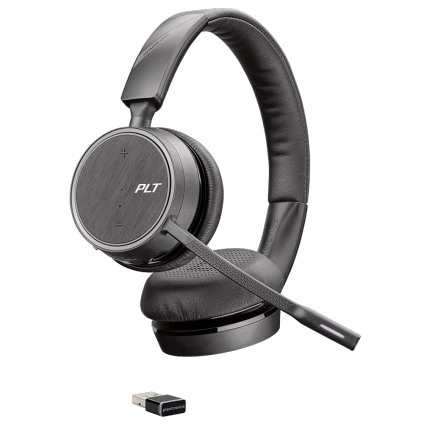 d5bcbba30ee Plantronics Voyager 4220 UC Bluetooth Stereo USB Headset, Skype. This  headset is similar to the Jabra Evolve 65 ...