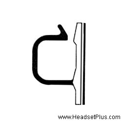 Plantronics Cord/Cable Restraint Clip for Headsets *DISCONTINUED