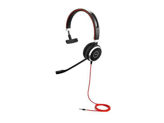 Jabra EVOLVE 40 Mono Headset w/3.5mm Jack