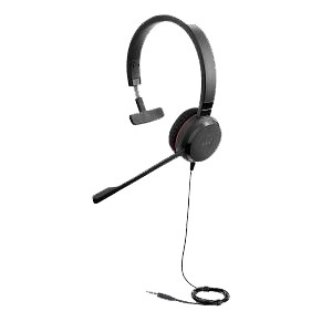 Jabra EVOLVE 30 II Mono Headset with 3.5mm only jack
