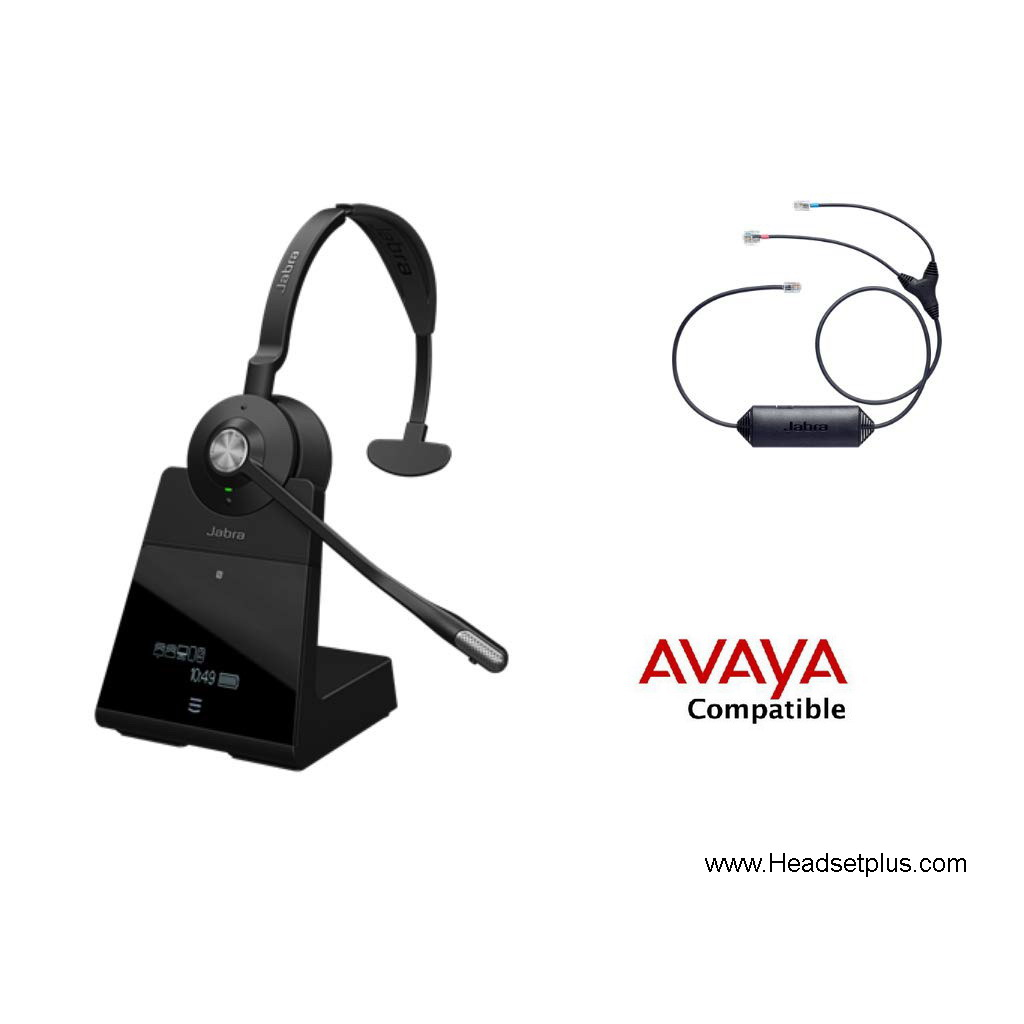 Jabra Engage 75 Mono+EHS for Avaya 1400 9400 9500 9600 Phones