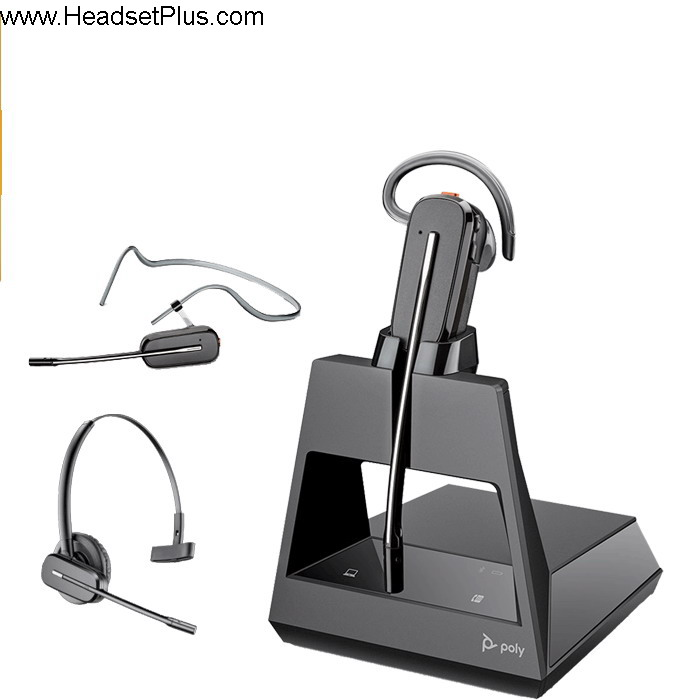 Poly Voyager 4245 Office Convertible Bluetooth Headset