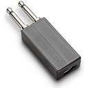 Plantronics PJ-327 Wireless Headset Plug Prong Adapter