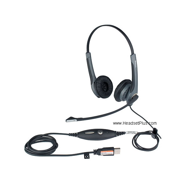Jabra GN2000 USB Duo UC Stereo headset *Discontinued*