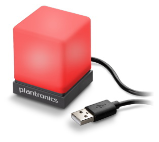Plantronics Status Indicator USB Light for UC Softphones