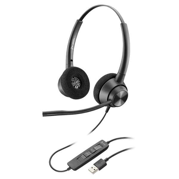 Poly EncorePro 320 USB-A Stereo Headset UC