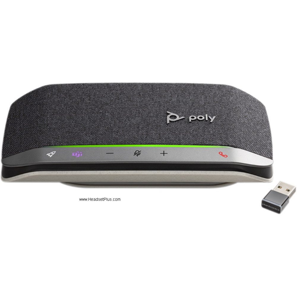 Poly Sync 20+ USB-A Bluetooth Wireless Speakerphone, MS Teams