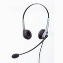 GN Netcom 2225 Omega Noise Cancelling binaural headset. *DISCONT