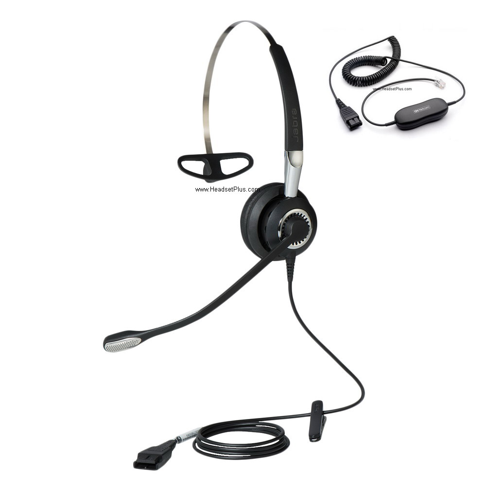 Jabra Biz 2400 II Mono Direct Connect 3-in-1 UNC Headset
