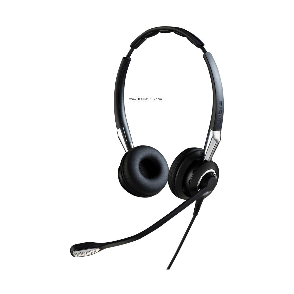 Jabra Biz 2400 II Duo Noise Canceling QD Headset