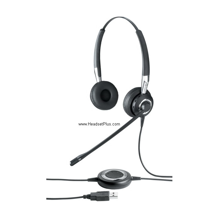 Jabra Biz 2400 II Duo UC USB/Bluetooth Stereo PC Headset