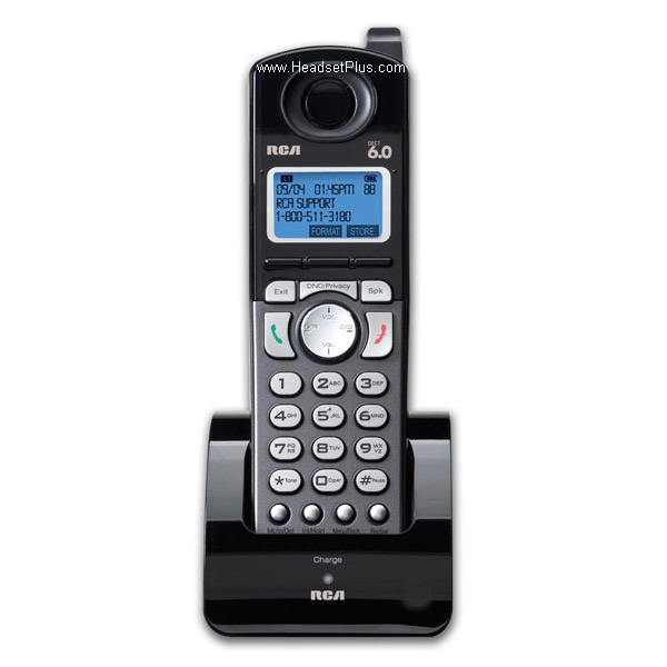 RCA 25055RE1 Extra Cordless Handset Add-On Accessory
