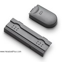 Plantronics M12/M22 Battery Door & Side Cover