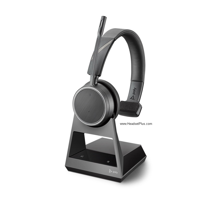 Plantronics Voyager 4210 Office Bluetooth Headset 1-Way Base