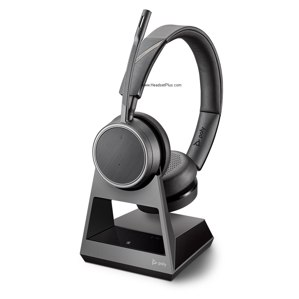Poly Voyager 4220 Office Ms Bluetooth Headset 2 Way Ms Teams 214003 01