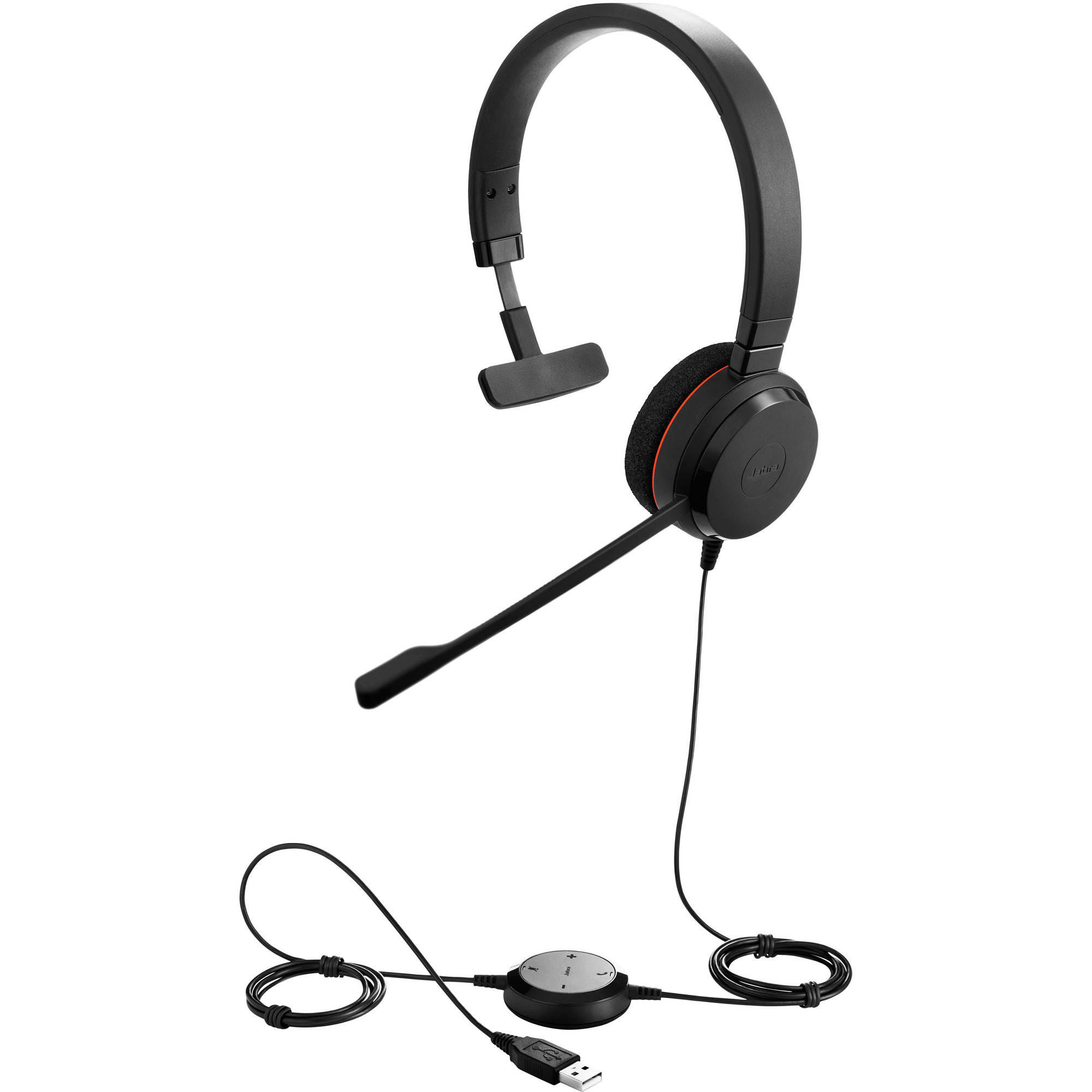 Jabra EVOLVE 20 MS Mono USB Headset MS Skype/Teams