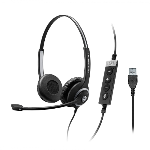 Sennheiser SC 260 CTRL II USB-A Double Sided PC Headset *Discont