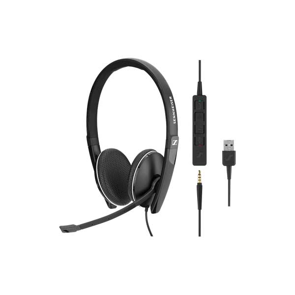 Sennheiser SC 165 USB-A and 3.5mm Double Sided Headset