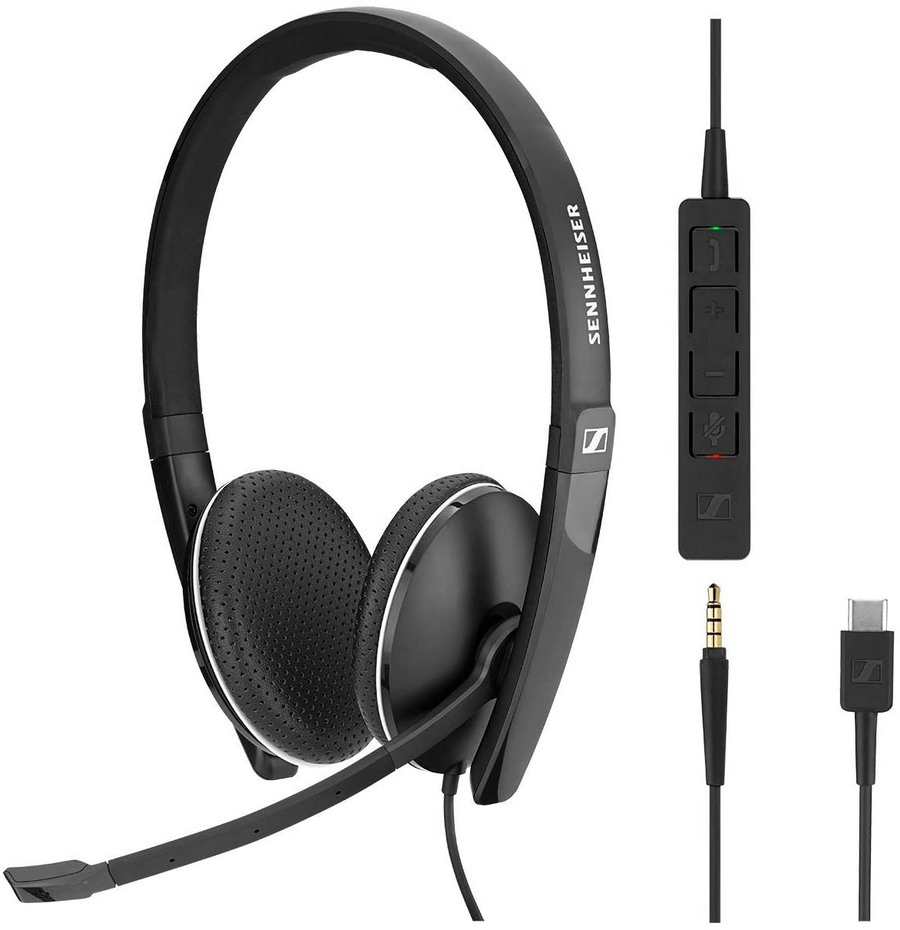Sennheiser EPOS SC 165 USB-C with 3.5mm Double Sided Headset