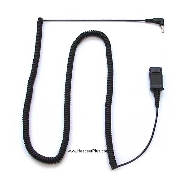 Plantronics 2.5mm Quick Disconnect Coil Cable 10ft