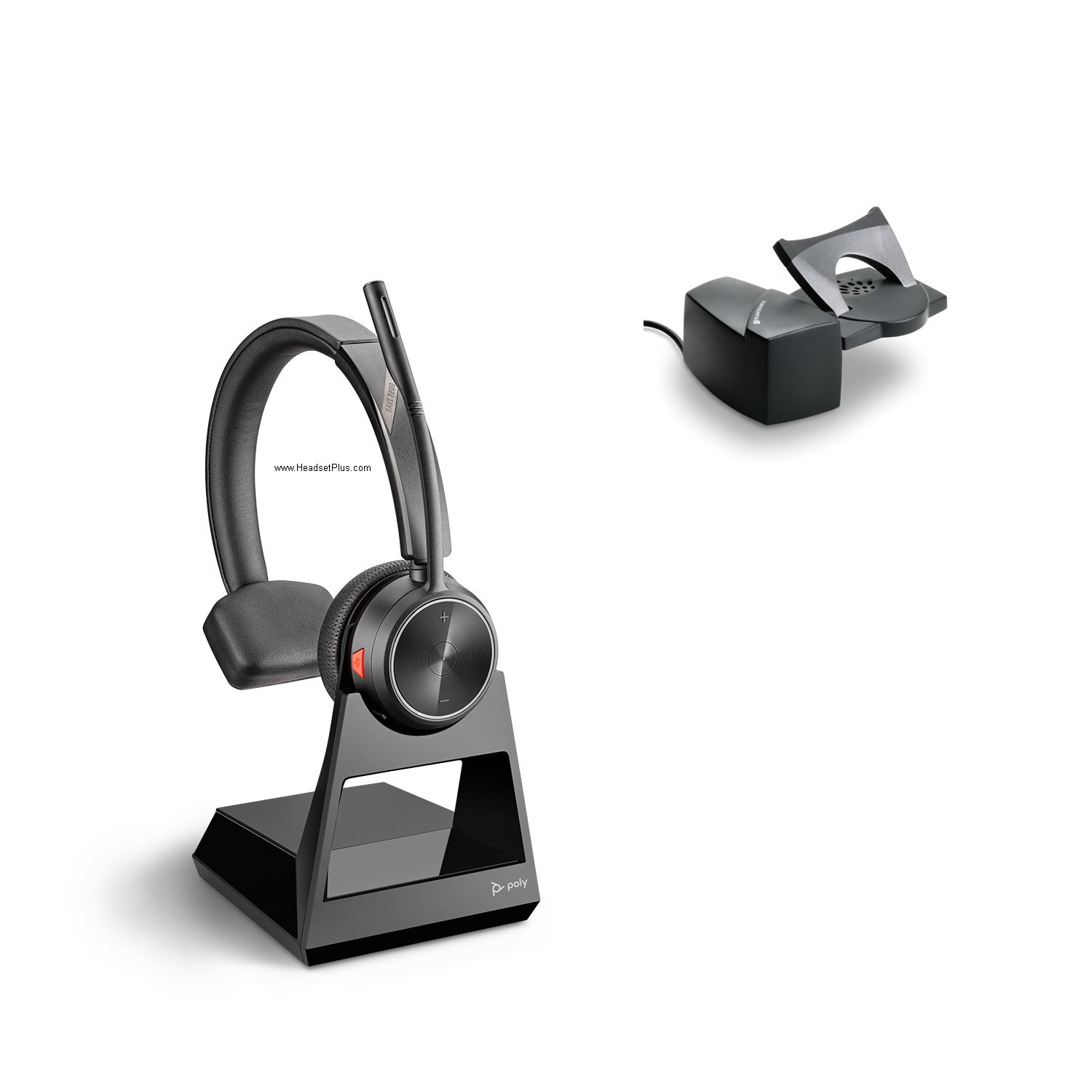 Poly Savi 7210+HL10 Wireless Headset Combo Package