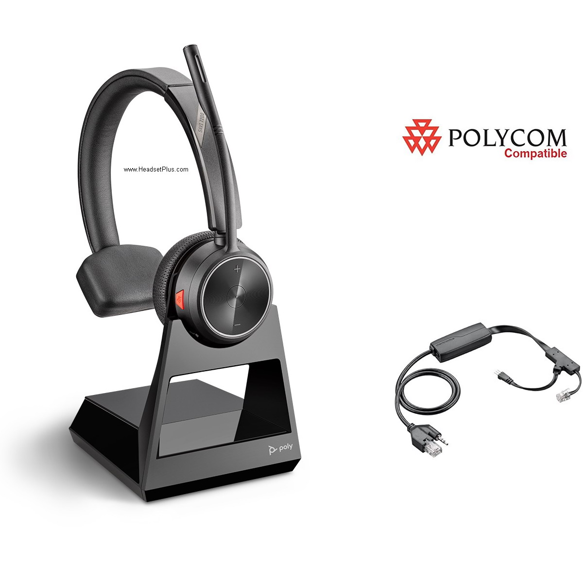 Poly Savi 7210+EHS Remote Answer Polycom IP Phone Package