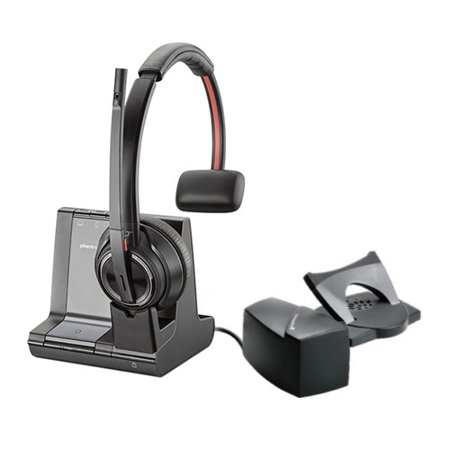 Plantronics Savi 8210 + HL10 Wireless Headset Lifter Bundle