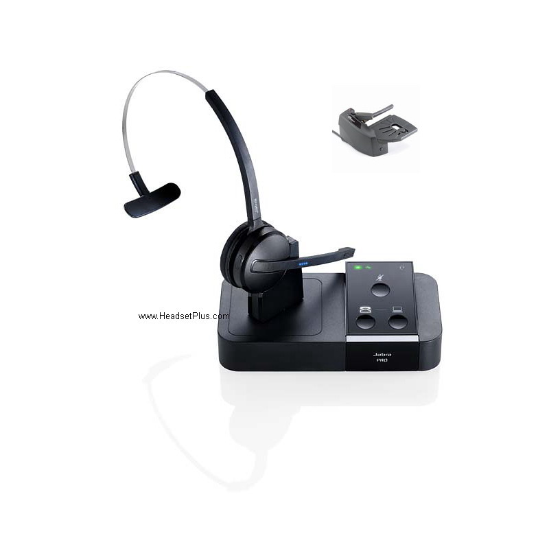 Jabra Pro 9450 Midi-Boom Wireless Headset + GN1000 *Discontinued