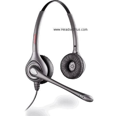 Avaya Awh 460n Binaural Noise Canceling Wireless Headset