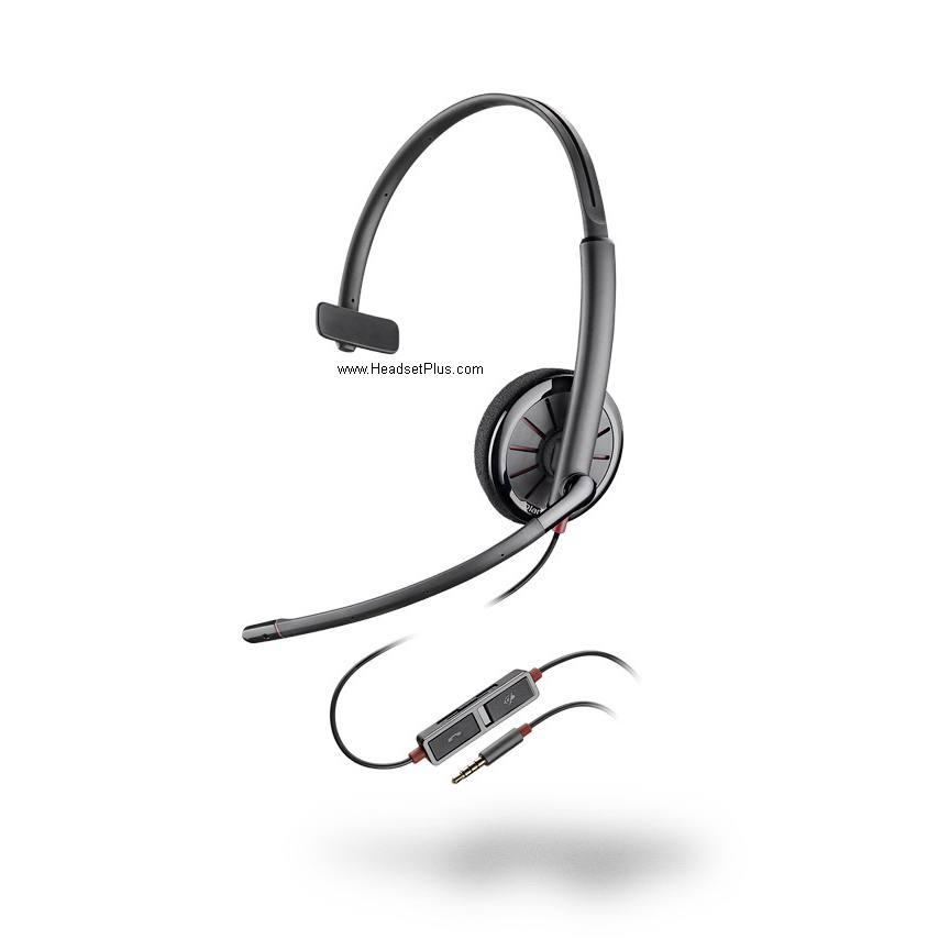 Plantronics Blackwire 215 C215 Mono 3.5mm Headset *Discontinued*