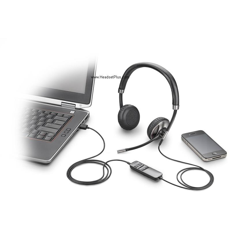 PLANTRONICS C720 Blackwire 720 USB/Bluetooth Headset UC ...