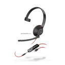 Plantronics Blackwire 5210 USB-C, 3.5mm Headset, MS Skype Cert