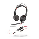 Plantronics Blackwire 5220 USB, 3.5mm Headset, MS Skype Cert