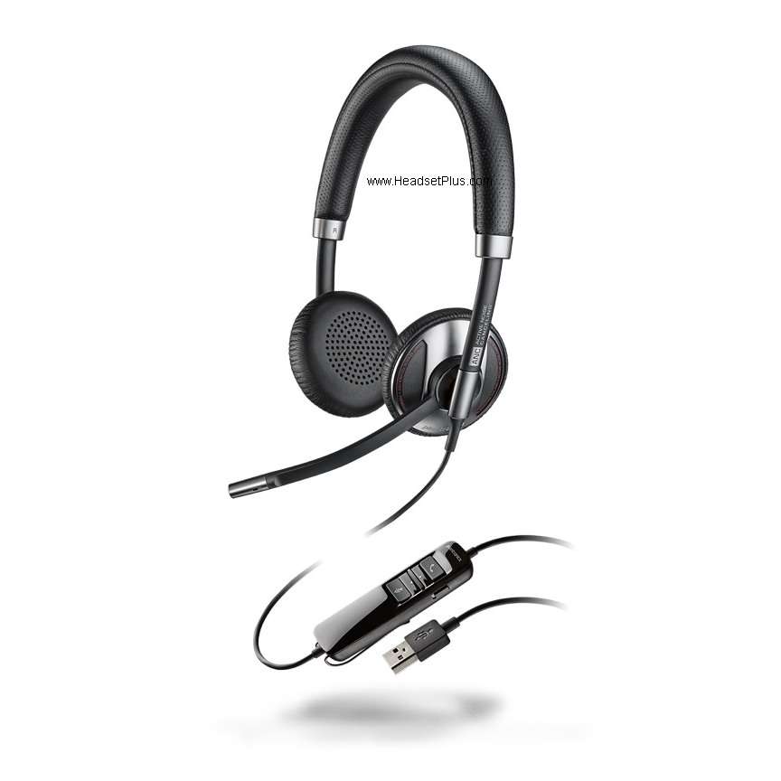 Plantronics Blackwire 725 C725 USB Stereo Headset UC