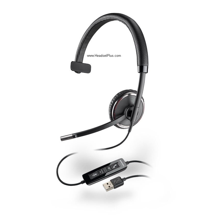 Plantronics C510 Blackwire USB Foldable Headset *Discontinued*