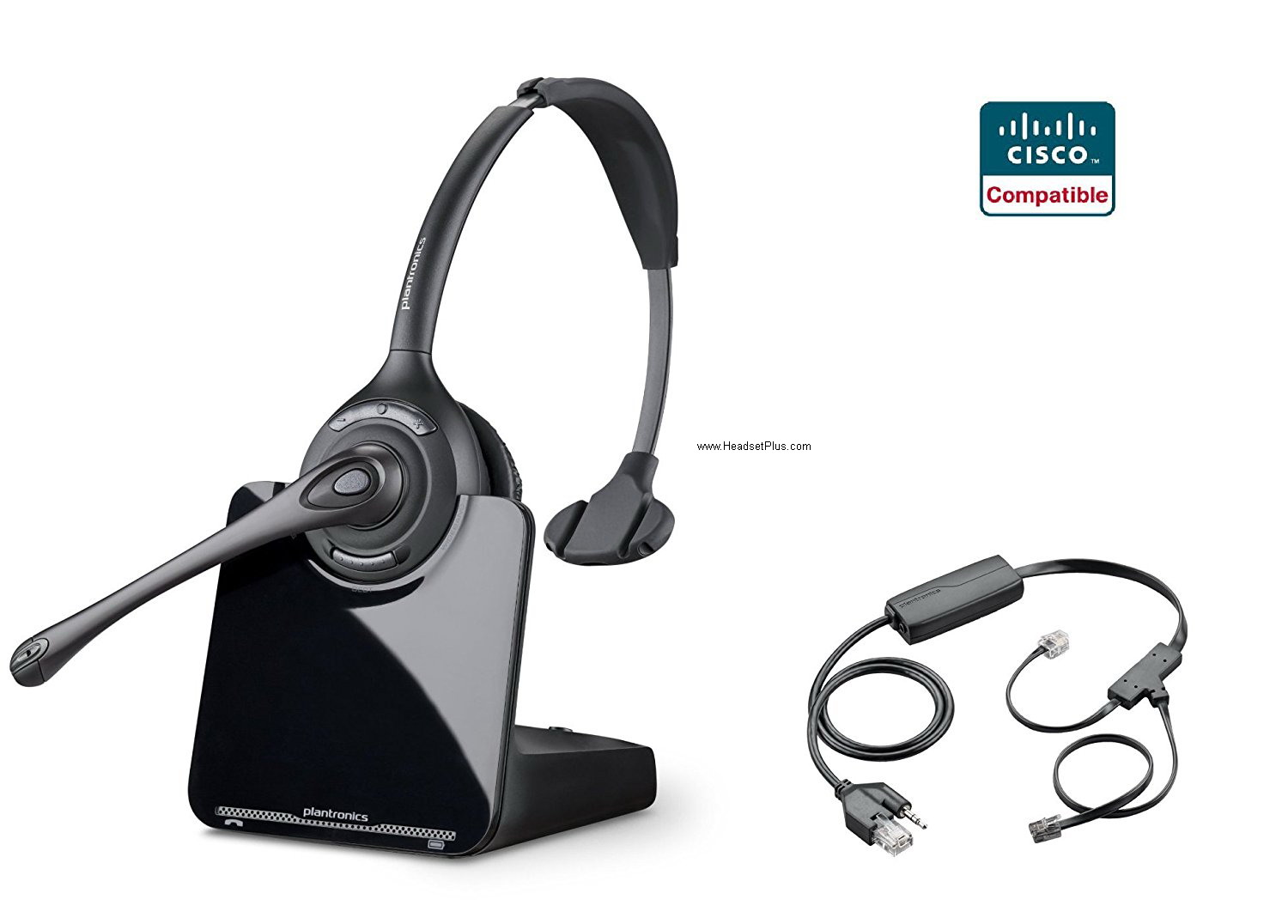 Plantronics CS510 + Cisco EHS Wireless Bundle Cisco IP Phones