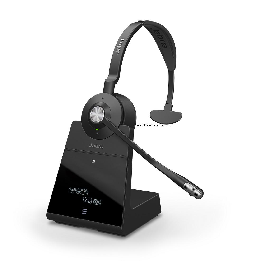 83b9ec7ab78 Plantronics Savi 8220 Binaural Stereo Wireless Headset 207325-01 ...
