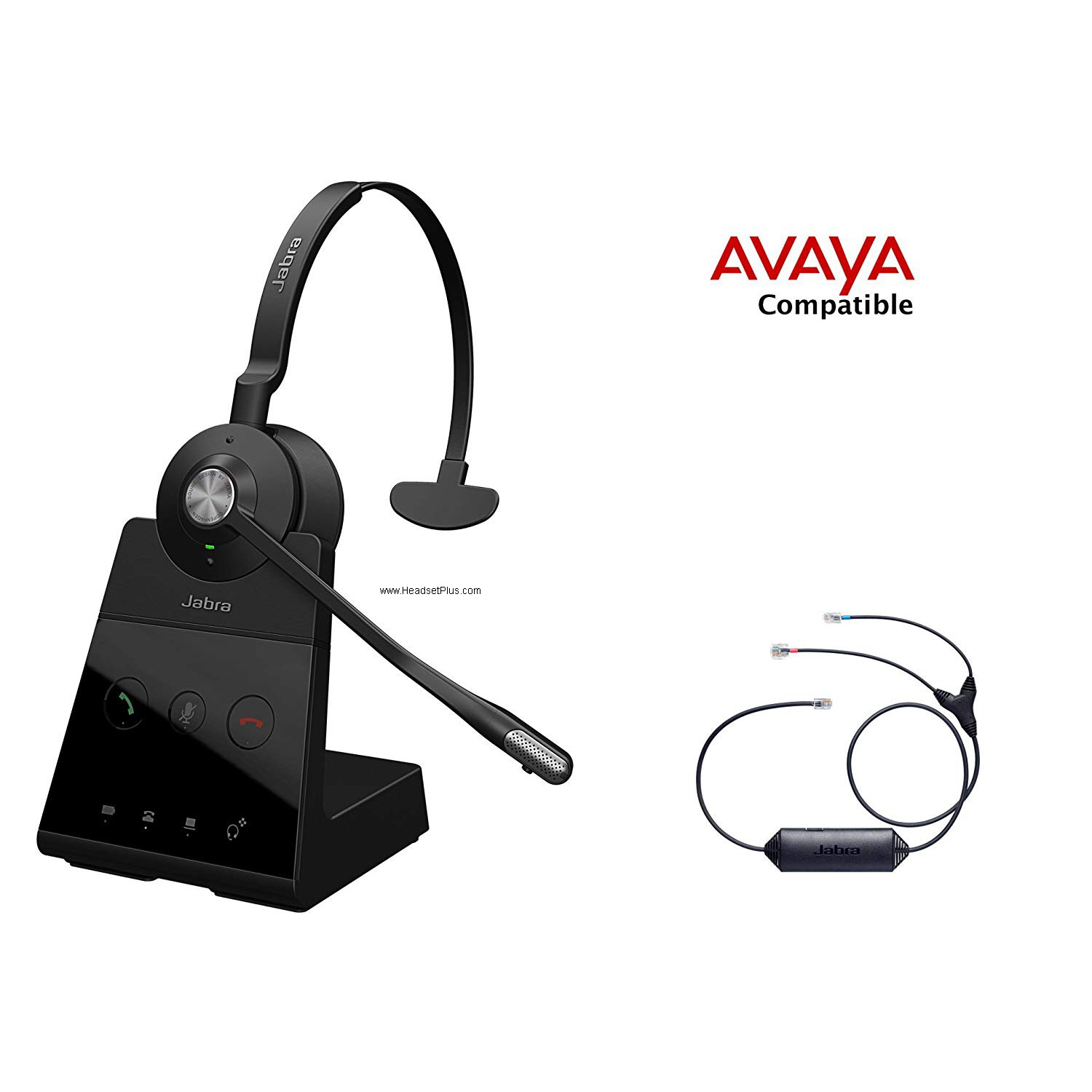 Jabra Engage 65 Mono+EHS Avaya 1400 9400 9500 9600 Phones