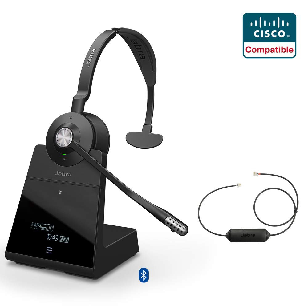 Jabra Engage 75 Mono +  EHS Wireless Headset Cisco Certified