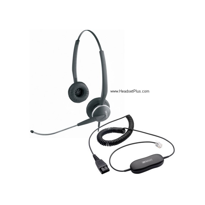 Jabra GN 2115 Direct Connect SoundTube binaural headset *Discont