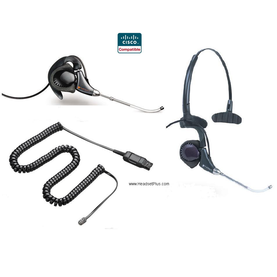 Plantronics H171-CIS CISCO IP DuoPro Headset *Discontinued*