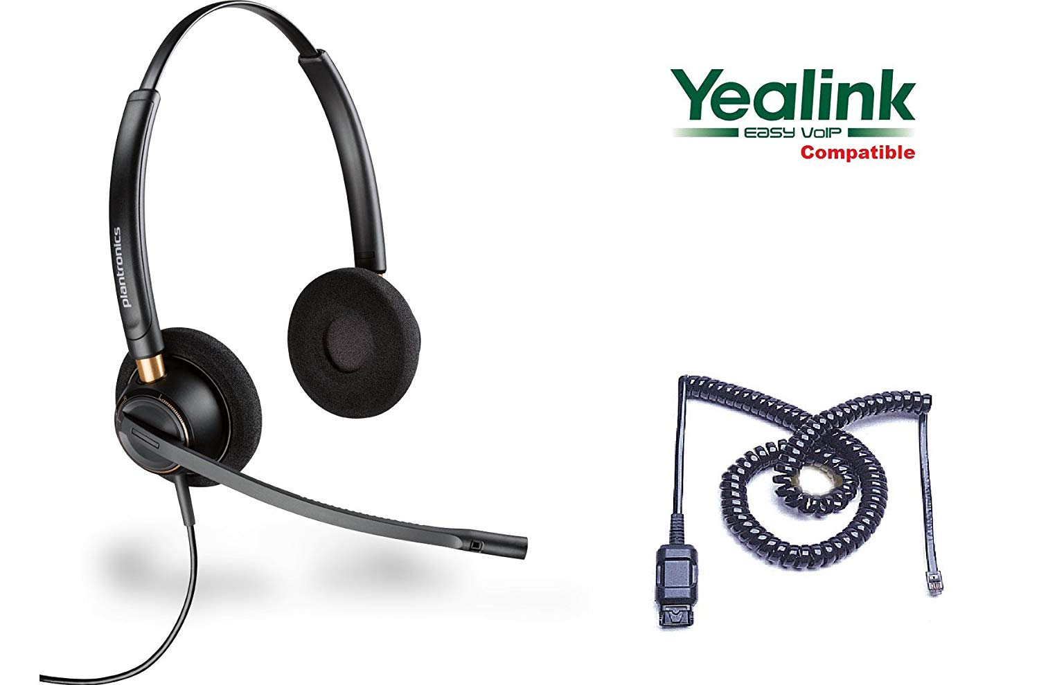 Plantronics HW520-YEA Yealink Certified Headset