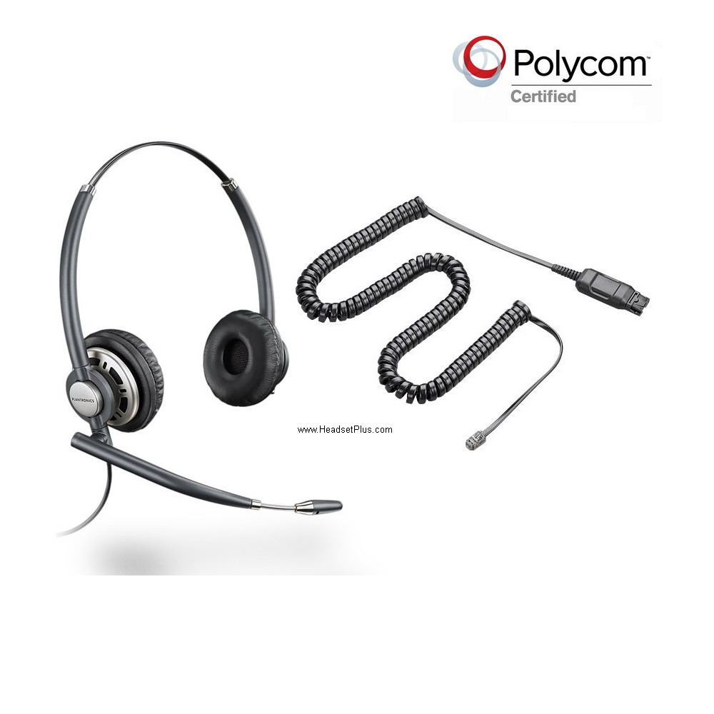 Plantronics HW720-POLY Polycom Phone Compatible Headset