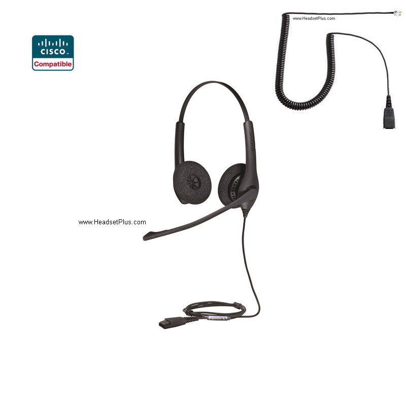 Jabra Biz 1500 Duo Binaural Cisco Compatible Headset