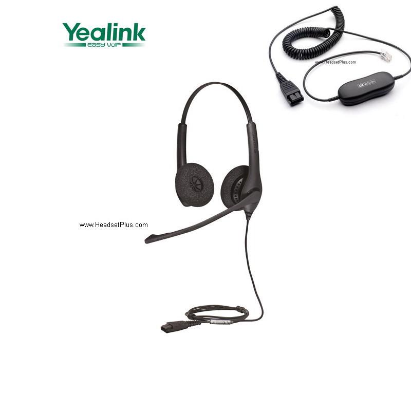 Jabra Biz 1500 Duo Headset Compatible with Yealink SIP Phones